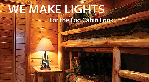 Rustic Lighting For The Log Cabin Home