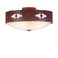 Southwest Style Close-to-Ceiling Lights